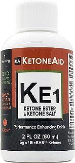 Sponsored Ad - KetoneAid KE1. 1/2 Ketone Ester, 1/2 Ketone (Reduced) Salt. 5g of All Natural D-BHB Exogenous Ketones