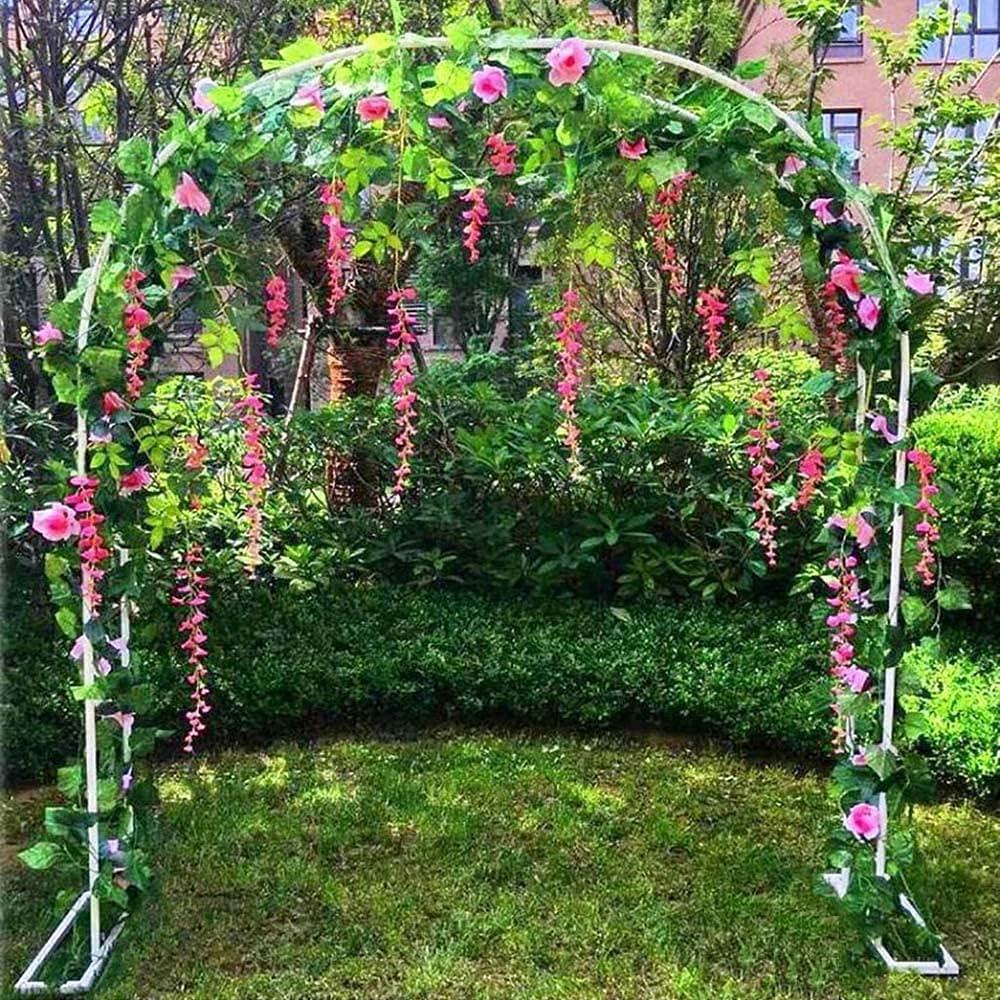YCMY Outdoor Flower Garden Arch Metal Durable Trellis Arb 2021 Very popular! model