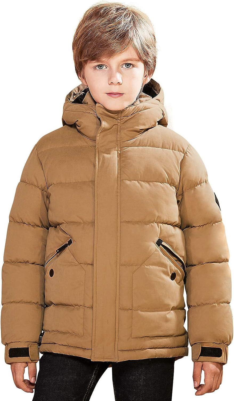 SOLOCOTE Boys Winter Virginia Beach Mall Coat shipfree Warm Lightweight Jacket Thicked