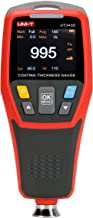 RockyMars UT343D Digital Coating Thickness Gauge for Ferrous and Non-Ferrous Substrate, with Visual Go-NoGo Indicator and Auto Rotatable Display
