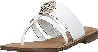GUESS Genera Women's Shoes, White (White WHILL), 40 EU