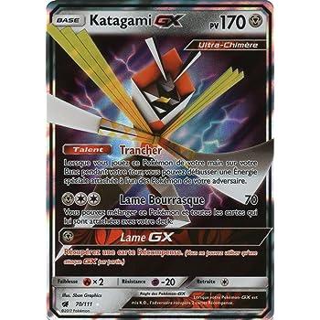 Cartes Pokémon Katagami GX 70//111ULTRA RARE Invasion Carmin SL4 NEUF