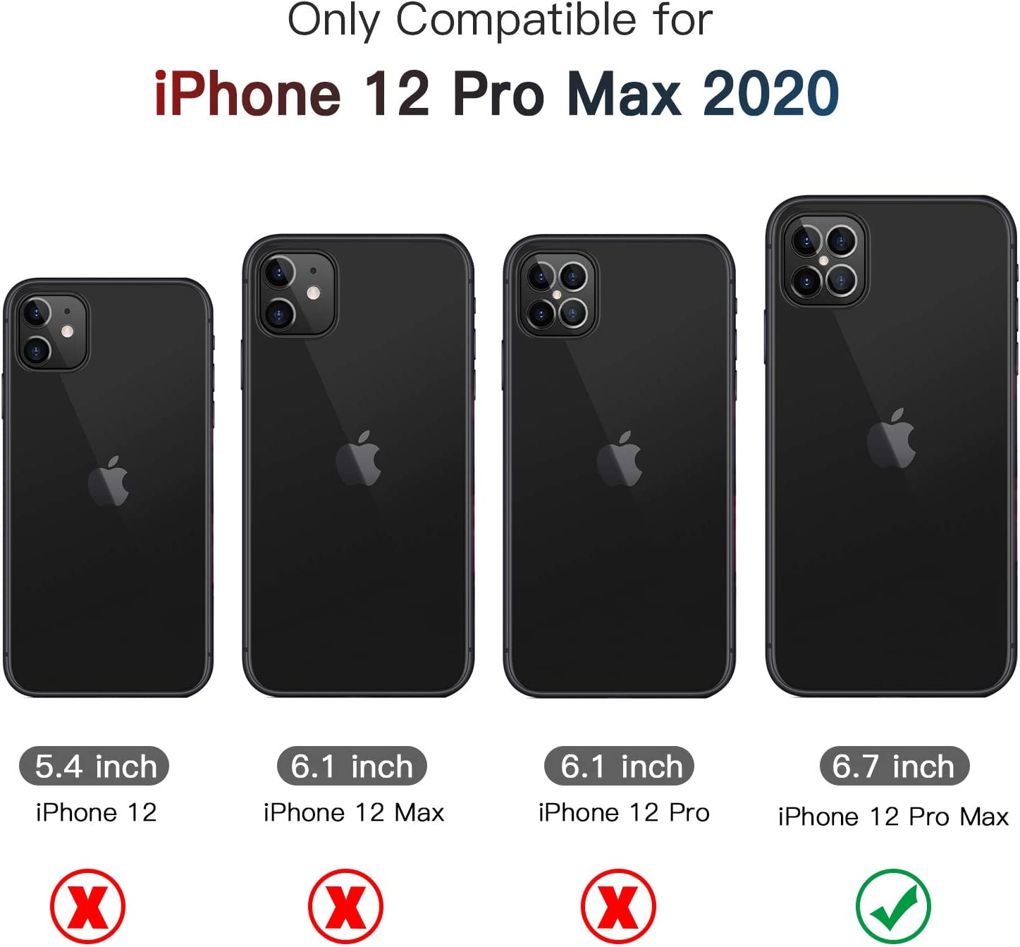 ZtotopCase iPhone 8 Pro Max Case, 8 Degree Full Body Protective ...