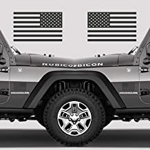 Classic Biker Gear Subdued American Flags Tactical Military Flag USA Decal 5