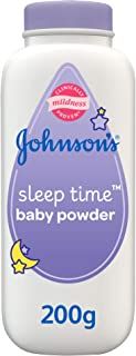 JOHNSON'S Baby, Baby Powder, Sleep Time, Lavender & Chamomile, 200g