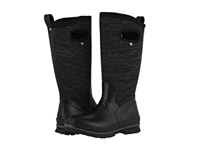 Bogs Crandall Tall Knit (Black Multi) Women