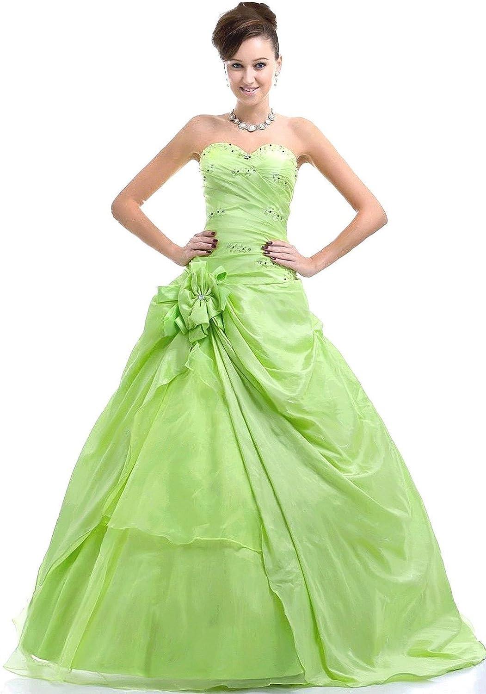 Edaier Women's Sweetheart Beaded Formal Prom Dress Ball Gown