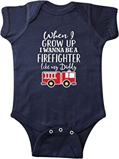 Future Firefighter Like Daddy Infant Creeper