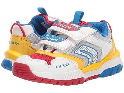 Geox Kids Tuono 1 (Toddler/Little Kid) (White) Boy
