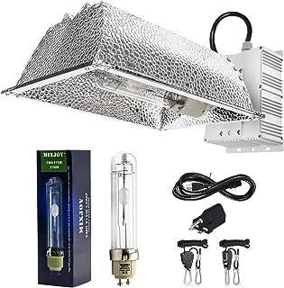 MIXJOY 315W Ceramic Metal Halide CMH/CDM Grow Light Kit, ETL Listed, High-Reflectivity Aluminum Hood, 120-240V Ballast, Full-Spectrum CMH Hydroponic Grow Light and Suspension System