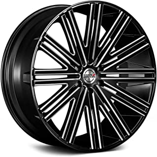 Heavy Hitters Hh12 Сustom Wheel - Satin Black with Milled Accents 24