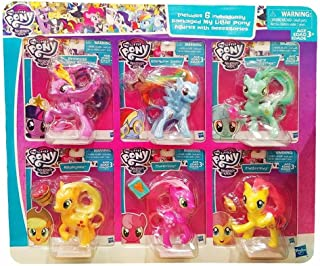 My Little Pony Friendship is Magic 6 Figures with Accessories
