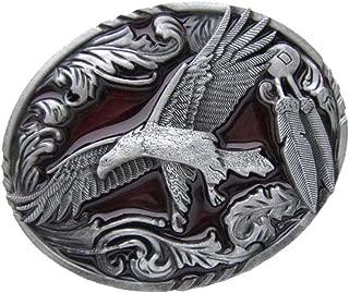 Baosity American Western Belt Buckle Eagle Men's Accessories For Jeans Belt Buckle
