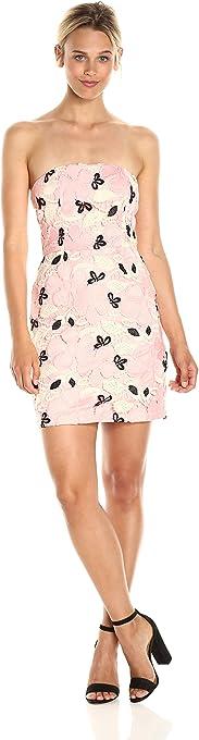 BB DAKOTA Women's Rue Strapless Lace Dress