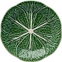 Bordallo Pinheiro Cabbage Green Dessert Plate, Set of 4