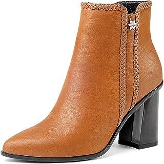 Nine Seven Women's Leather Pointtoe Heel HighHeel