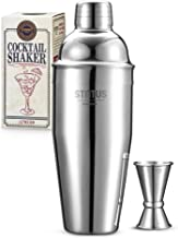 Cocktail Shaker, STNTUS Cocktail Shakers, 25 oz Martini Shaker, Stainless Steel Drink Shaker, Drink Mixer, Martini Shaker ...