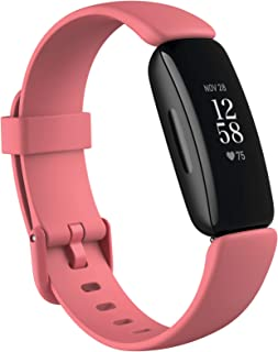 Fitbit Inspire 2 Fitness Tracker with 12 Months Free Fitbit Premium Membership, 24/7 Heart Rate, Activity & Sleep Tracking...