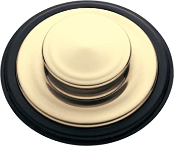 InSinkErator  STP-FG Sink Stopper for Garbage Disposals French Gold