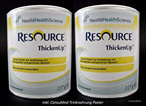 ThickenUp from Nestle Health Science thickening agents thickening powder in exclusive ConsuMed bundle 2 x 227 g