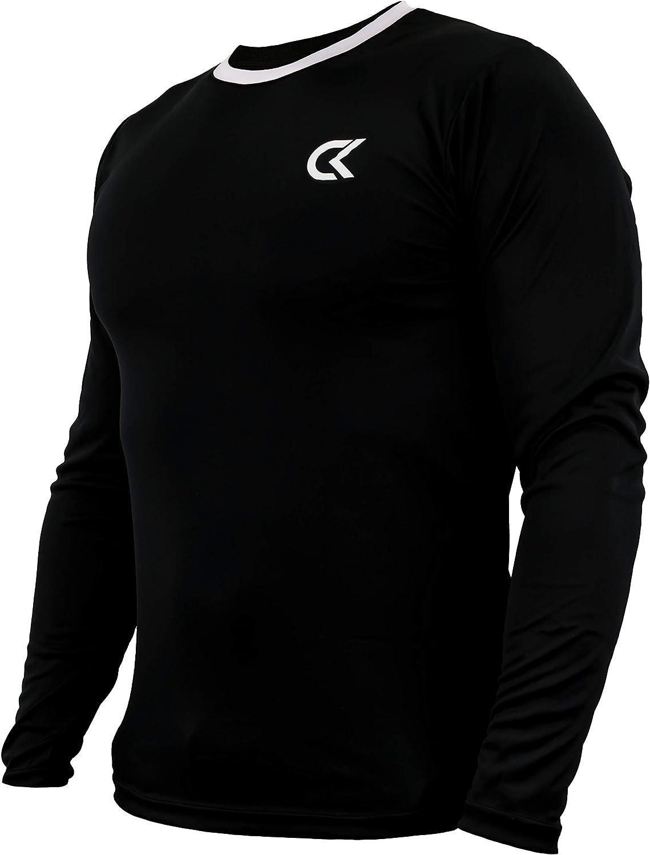 mujer y ni/ños de manga larga Ropa de portero//camiseta deportiva acolchada CATCH /& KEEP Camiseta de portero Camiseta de f/útbol para hombre