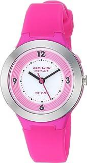 Armitron Sport 女士硅胶表带手表