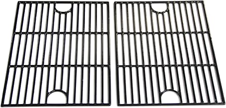 VICOOL 17 inch Polished Porcelain Coated Cast Iron Non-Stick Grill Grates Replacement Parts for Nexgrill 720-0830H, 720-0670A, 720-0670C, Kenmore, Uniflame, Kmart Gas Grill Models, HyG119B