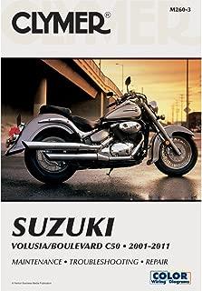 Clymer Suzuki Twins Motorcycle Repair Manual M260-3
