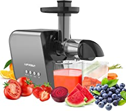 Sponsored Ad - Home Juicers Fruit Vegetable Slow Masticating Juicer Machines Cold Press High Yield Extractor BPA-Free Quie...