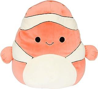 "Squishmallows Official Kellytoy Plush 8"" Clown Fish - Ultrasoft Stuffed Animal Plush Toy"