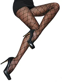 Patterned tights with mesh effect 20 denier