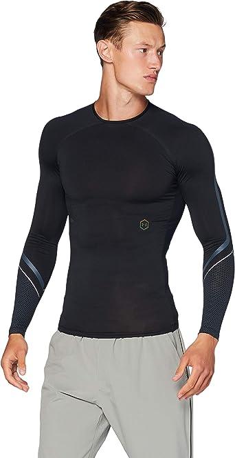 Under Armour Sudadera con Media Cremallera UA Rush™ Coldgear® Run Camisa Hombre