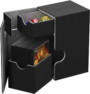 Ultimate Guard UGD010221 Flip n Tray Deck Case, 80 Plus, Standard Size, XenoSkin, Black