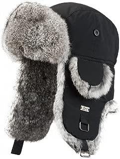frr B-52 Aviator Hat with Rabbit Fur