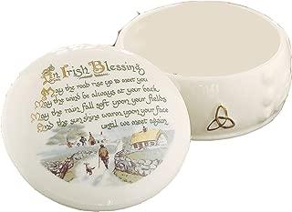 Belleek Fine Parian China Irish Blessing Box