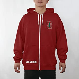 Elite Fan Shop NCAA Mens Zip Up Hoodie Sweatshirt Team Captains