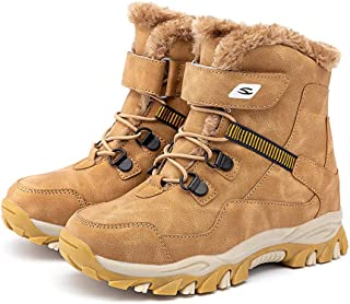 FX Children's Winter Martin Boots, Boys Plus Velvet Snow Boots, Waterproof And Non-slip Outdoor Middle-aged And Thick Cotton Shoes