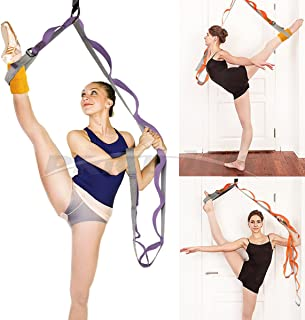 Leg Stretch Band - to Improve Leg Stretching - Easy Install on Door - Perfect Home Equipment for Ballet, Dance and Gymnast...