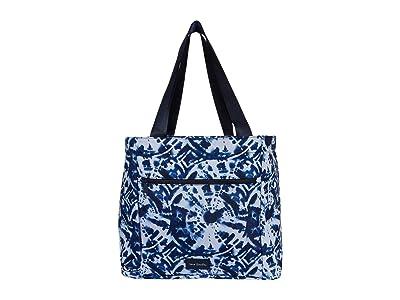 Vera Bradley ReActive Drawstring Family Tote (Island Tie-Dye) Tote Handbags