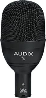 Audix F6 Instrument Dynamic Microphone, Hyper-Cardioid