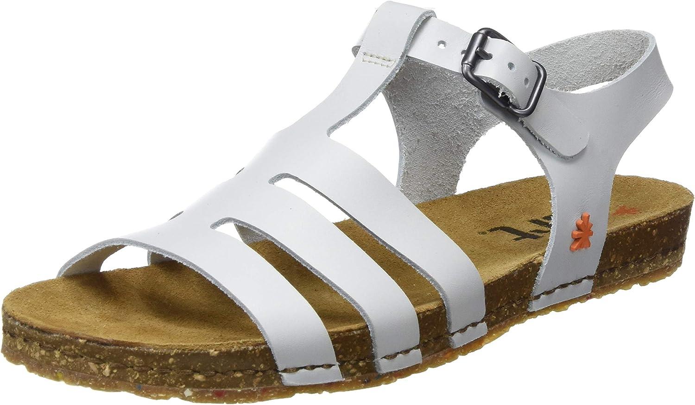 Art Damen 1254 1254 Becerro Weiß Creta Peeptoe Sandalen  online zu verkaufen