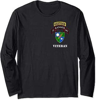 75th Army Ranger Shirt - Veteran White Long Sleeve