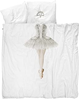 Snurk Ballerina Duvet Cover and Pillow Case Set for Kids Full/Queen