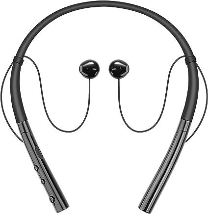 Wireless Headphones, Besiva Wireless Neckband Headset,...