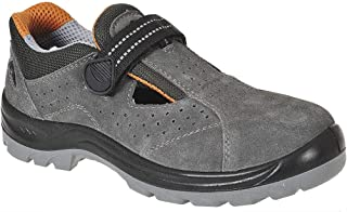 Portwest fw42grr37Steelite sandalias de obra, S1, Regular, tamaño: 37, Gris