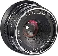 7artisans Photoelectric 25mm f/1.8 Lens for Canon EF-M Mount - Black
