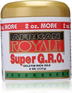 African Royale Super Gro Gelatin Rich Oil, 6 Ounce