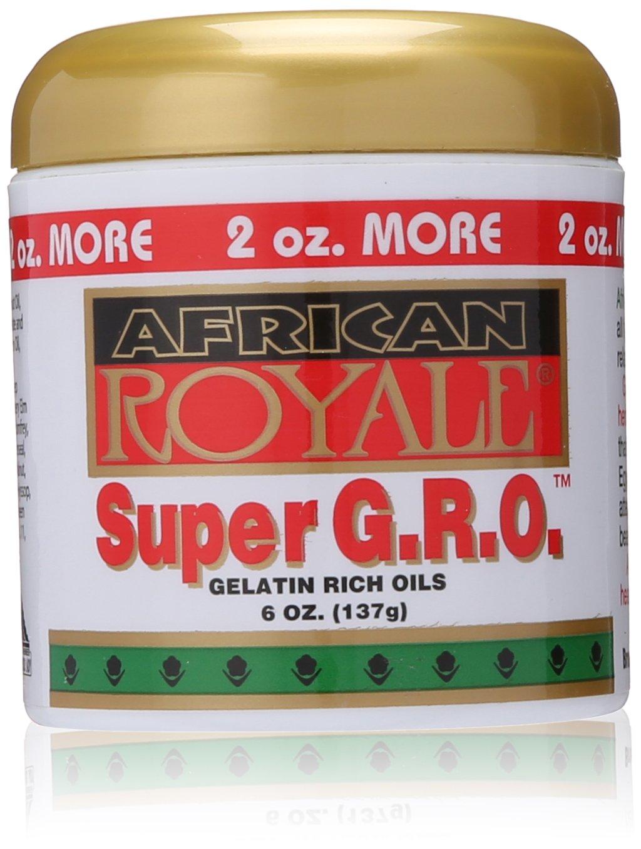 shop African Royale Super Finally resale start Gro Gelatin Oil Ounce Rich 6