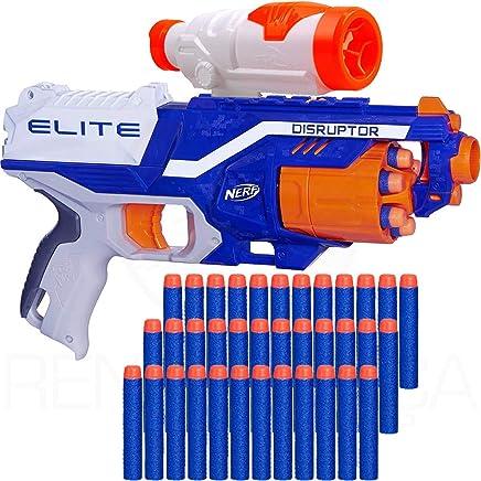 34b348426 Arma Nerf Disruptor + Scope + 60 Dardos de Brinquedo