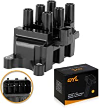 Ignition Coil Pack Replacement for Ford Ranger Freestar Mustang Taurus Mazda B3000 Mercury Sable Monterey C1312 DG485 FD498
